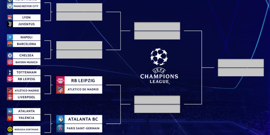 UEFA Champions League bracket, schedule: Here's where ...